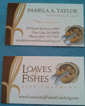 Pam Taylor's Business Card