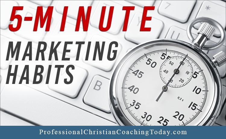 5 minute marketing habits podcast 99 kim avery coaching