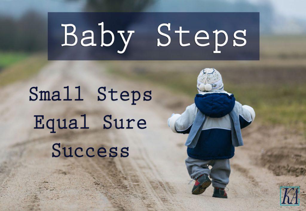 Resultado de imagem para baby steps